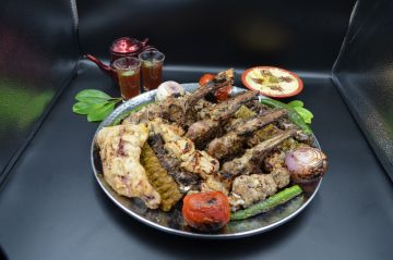 Arabic BBQ Platter  - For 3 Person