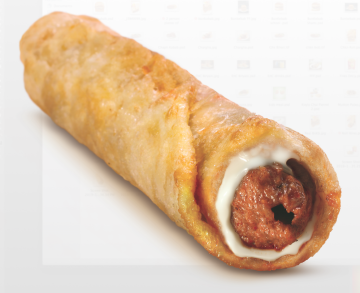 Mutton Seekh Kabab Roll