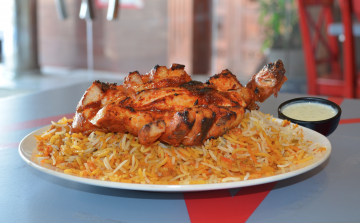 Chicken Tikka Biryani (leg / breast piece)