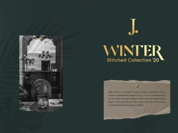 J. Ladies Winter Stitched Collection '20