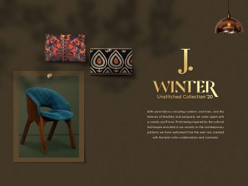 J. Ladies Winter Unstitched Collection '20