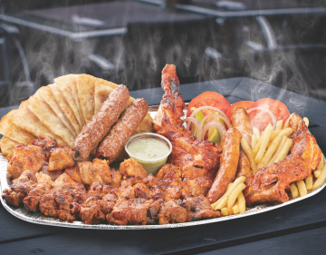 Mixed BBQ Platter - For 2 Persons